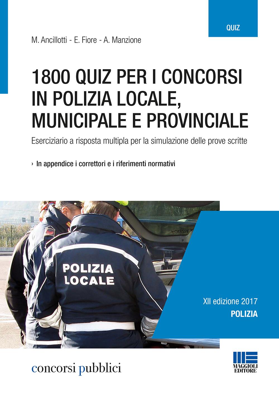quiz polizia municipale